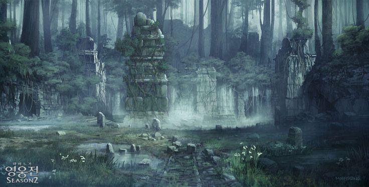 The Ruined Town  41899c030ceae7e478184a89df5a4c05