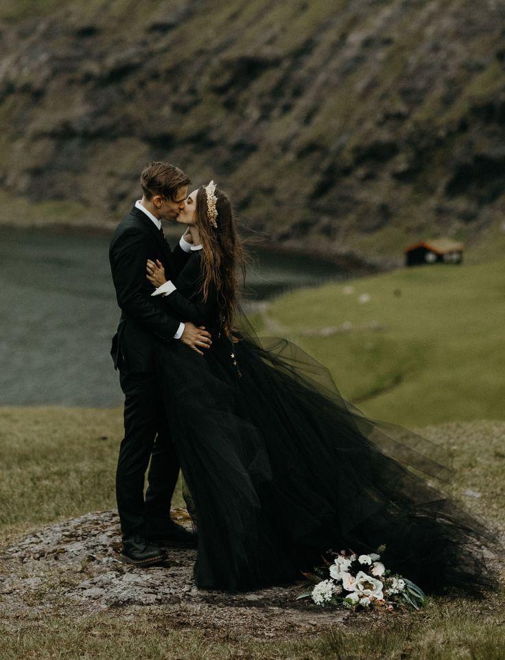 Mango Street Sweethearts: Rachel + Daniel's Moody Elopement on the Faroe Islands