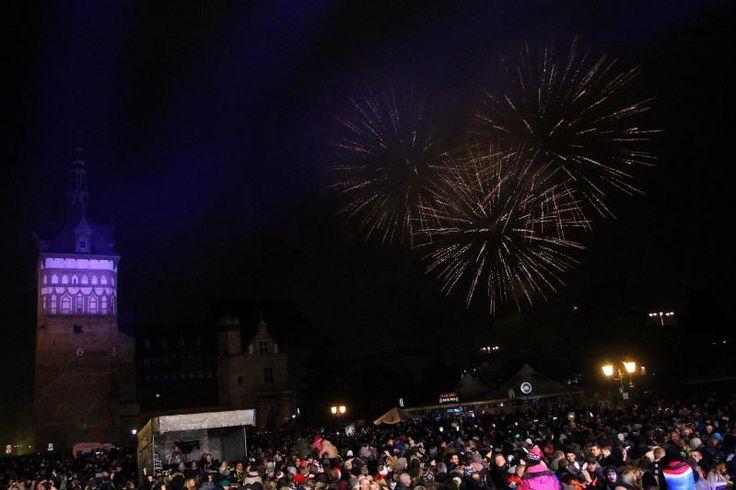 #Sylwester #NewYear #NowyRok @ #Gdansk, #ilovegdn #fireworks #lights