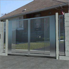 Modern Steel Gate Mild Steel Gate And