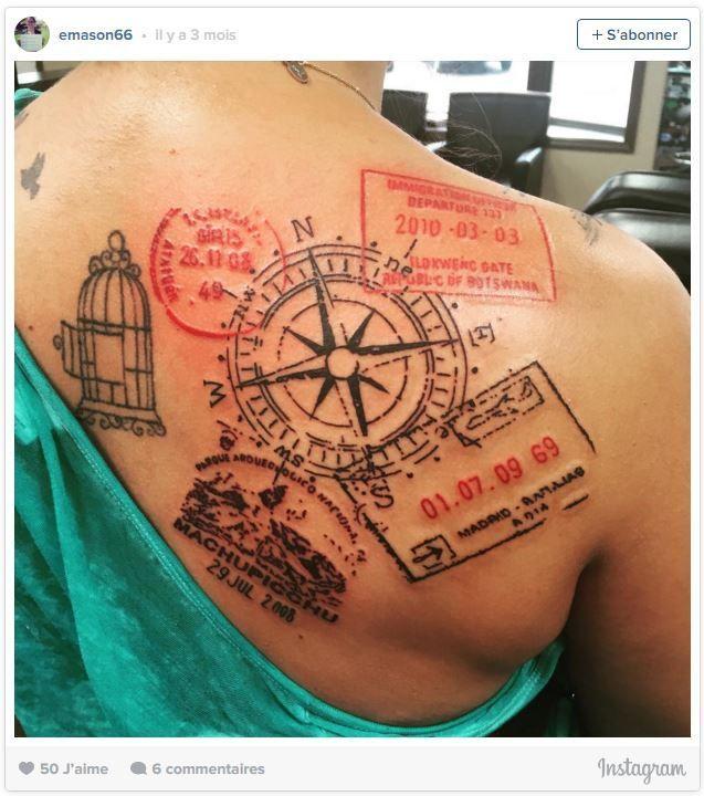 1000 id es sur le th me tatouage souvenir sur pinterest tatouages de combattant citations sur - Tatouage theme voyage ...