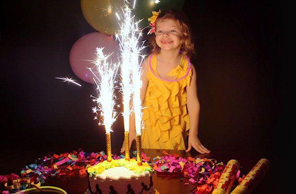 Bottle & Cake Sparklers