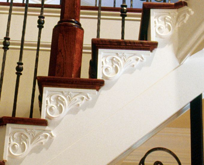 Priscella pattern stair brackets