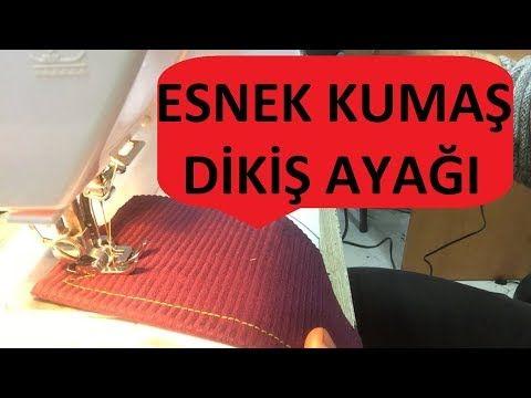 Esnek kumaş penye dikim ayağı triko ayağı – YouTube