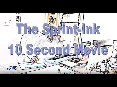 A glimpse into life at Sprint-Ink