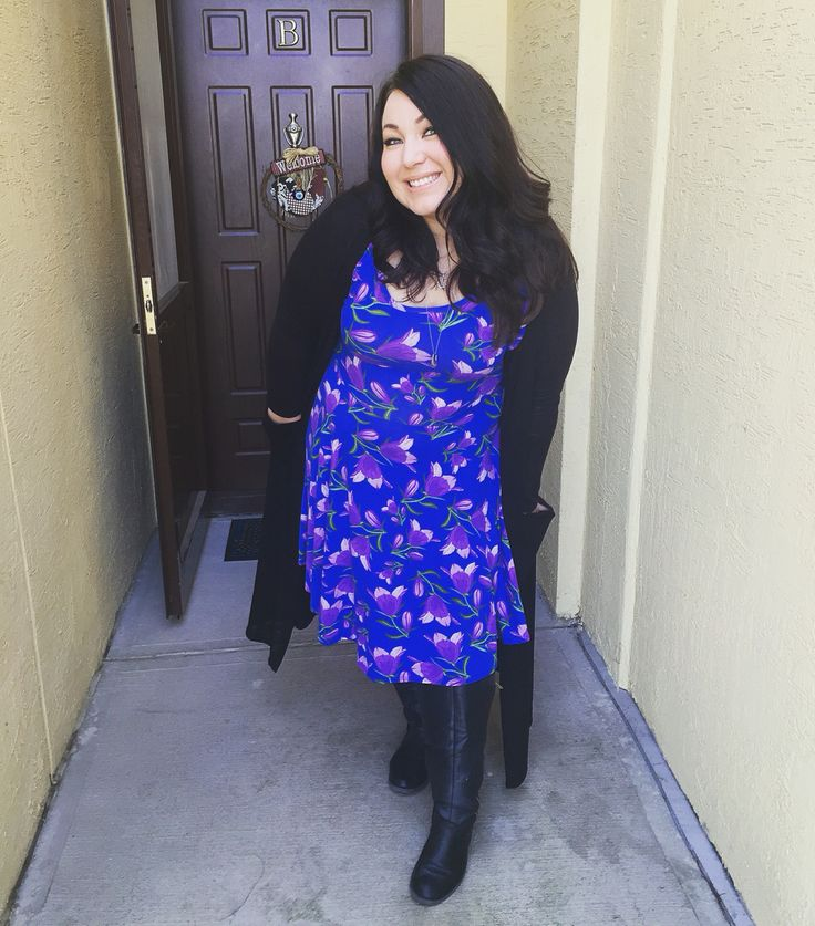 Lularoe Nicole Dress! Beautiful on women of all sizes! This Nicole dress  makes me