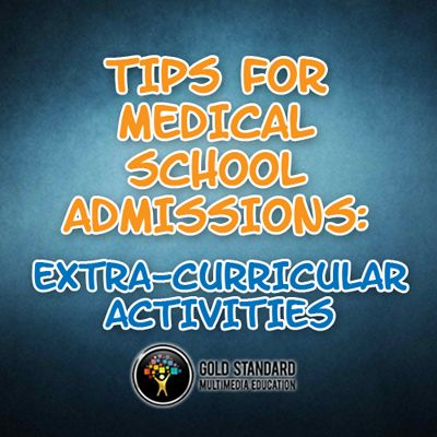 Medical School Admission Tips, With Emphasis On Your Extra Curricular  Activities #premed Https