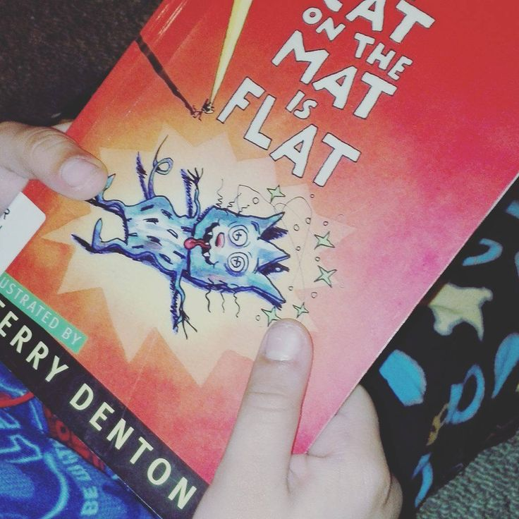 How A Flat Cat Helped Our Child #reading #learning #kidsreading #kidsbooks
