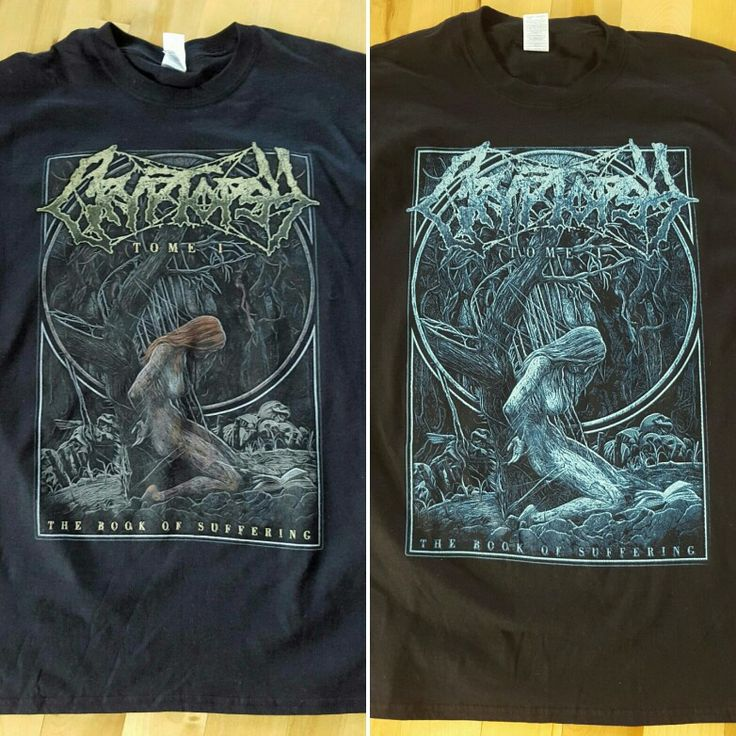 #Cryptopsy : The Book of Suffering #merch