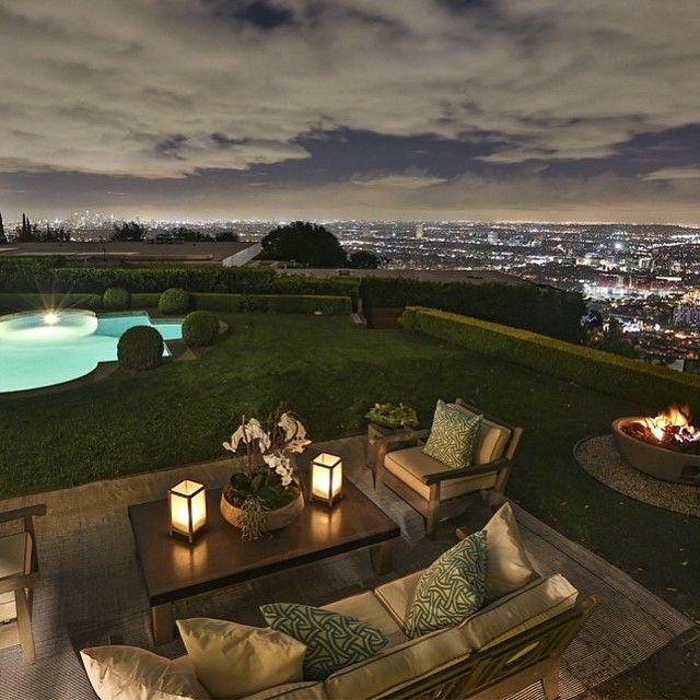 Inspiration trädgård tillhörande fantastisk villa