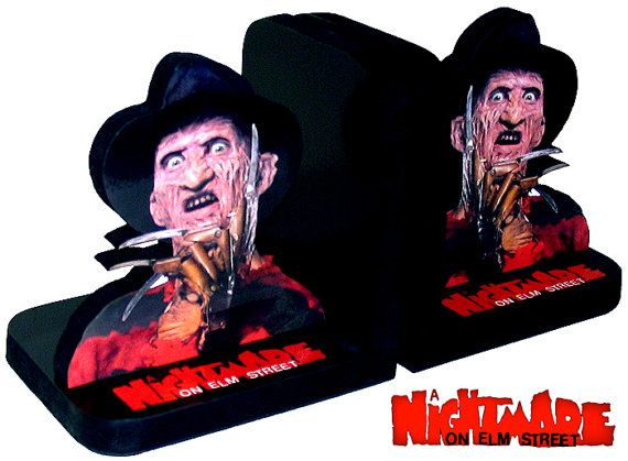 Freddy krueger a nightmare and bookends on pinterest