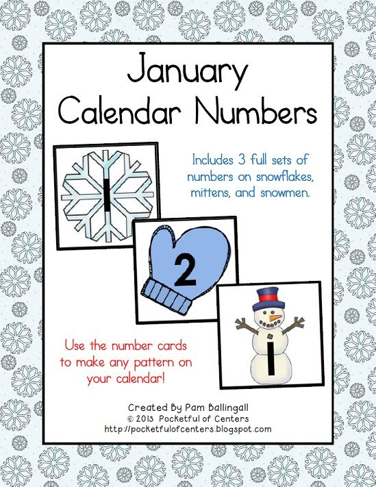 April Calendar Numbers For Preschool : Best numerous number calendar cards images on pinterest