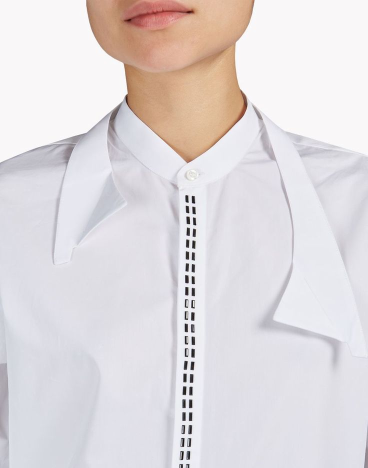 embroidered shirt camisas Mujer Dsquared2