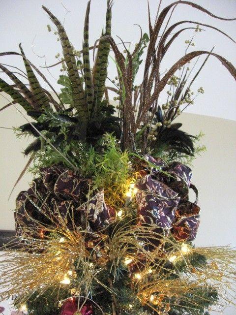 Ribbon Christmas Tree Topper