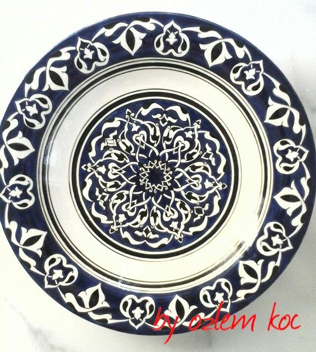 40 cm İznik plate