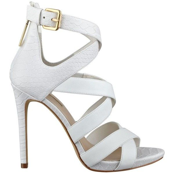 1000  ideas about White Strappy Heels on Pinterest | African print ...