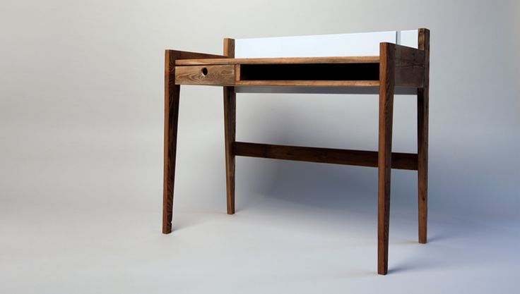 Recycling Holz, desk, recycling wood