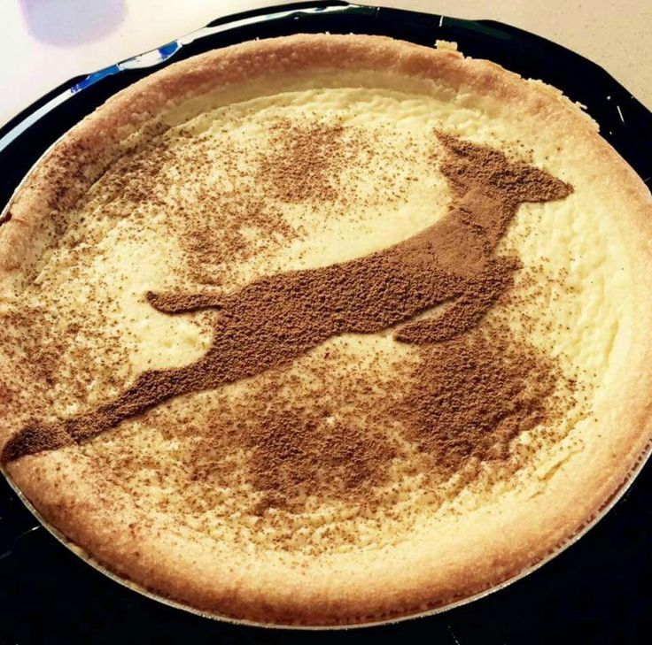 Springbok milk tart #proudlysouthafrican
