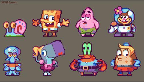 DYA Games - Spongebob squarepants and friends
