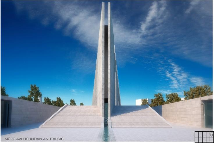 Rauf Raif Denktas Mausoleum designed by Collective Architects