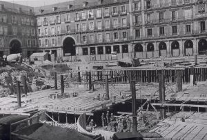 Plaza Mayor de Madrid en 1968