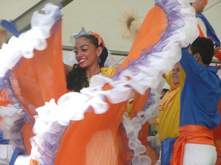 Het Sivo dansfestival in Odoorn bij Emmen. 2014 Costa Rica.