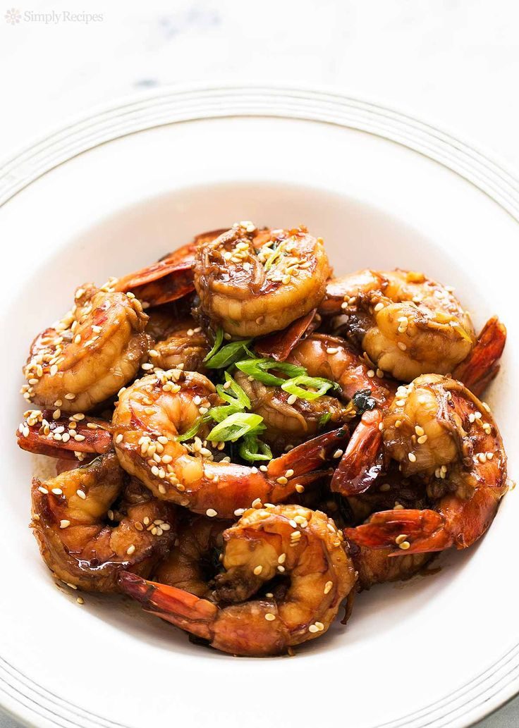 Ginger Sesame Garlic Shrimp