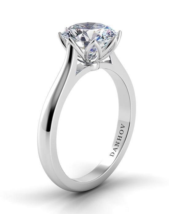 Danhov Classico Lotus Engagement Ring - The Knot