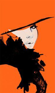 Grant Cowan: Art Illustrations Sketches, Grantcowan, Grant Cowan, Box, Boards Artists, Art Fashion, Fashion Illustrations, Black Orange, Fashion Sketch