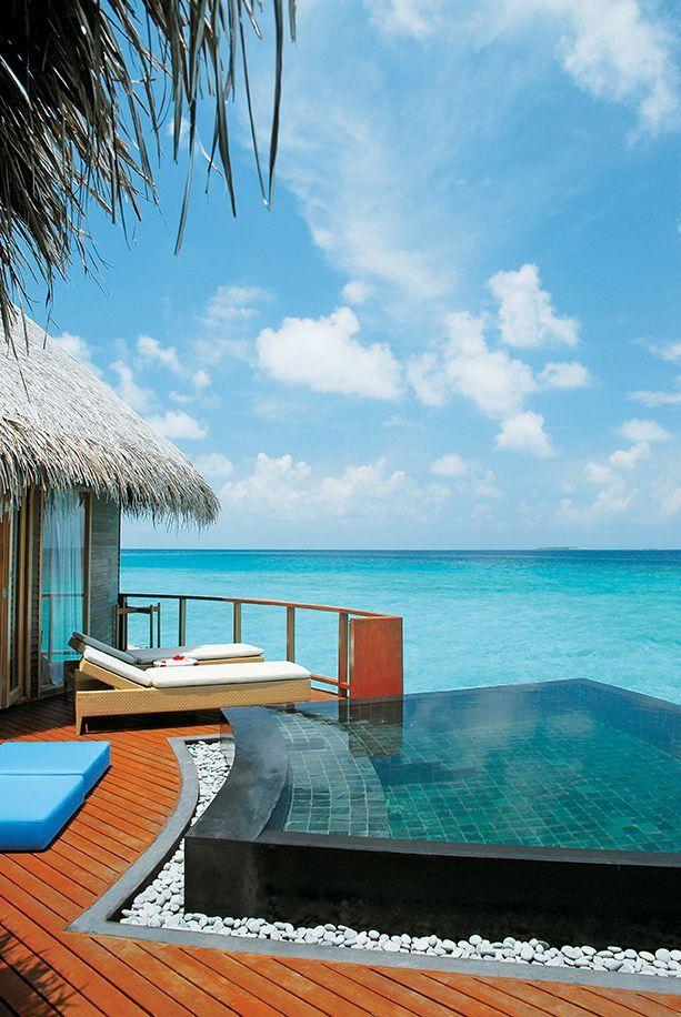 Villa de reve a l'hotel Constance Halaveli aux Maldives !