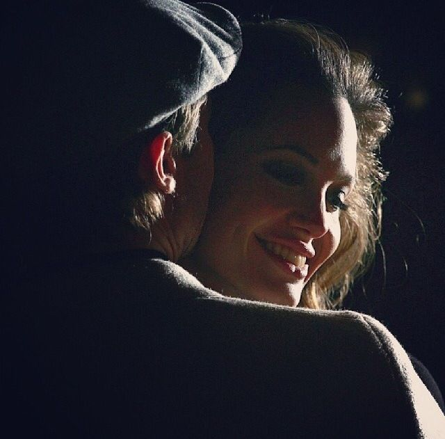 Angelina and Brad, that look..