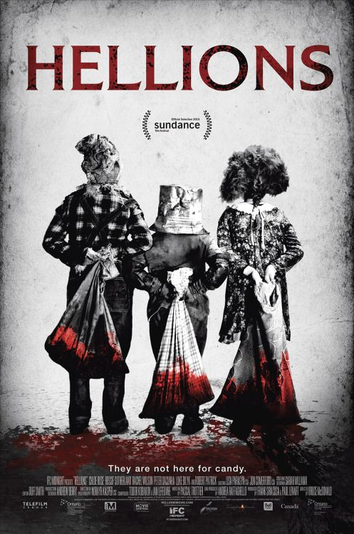 We have the poster for Hellions to go along with the intense trailer we shared earlier this week. Directed by Bruce McDonald (Pontypool), the film hits select theaters and VOD on September 18 via IFC Midnight.Chloe Rose (Degrassi: The Next Generation), Rossif Sutherland (Reign), Rachel Wilson (The Kennedys), Peter DaCunha (The Barrens), Luke Bilyk (Degrassi: The Next Generation) and Robert Patrick (Terminator 2) star.