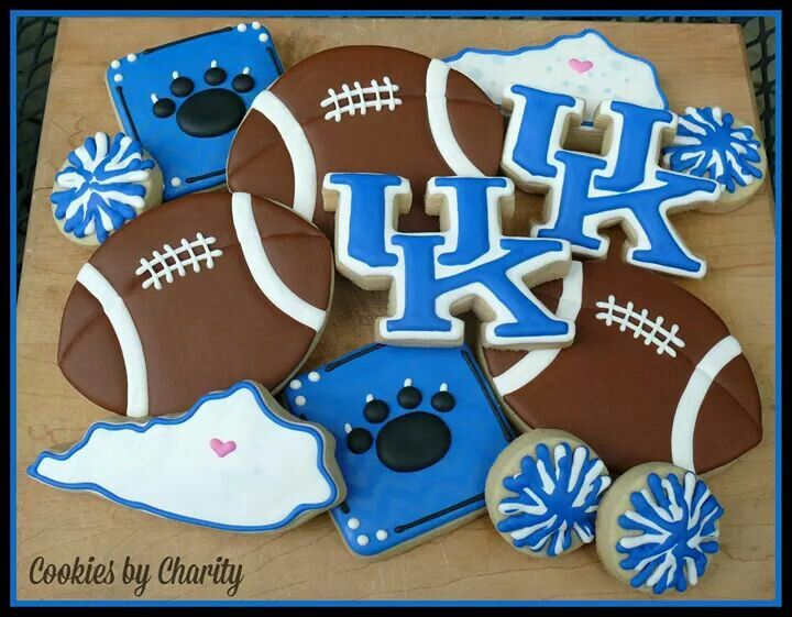 Uk Basketball: 1000+ Images About Sport Cookies On Pinterest