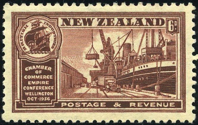 Rey George VI-Nueva Zelanda 1936
