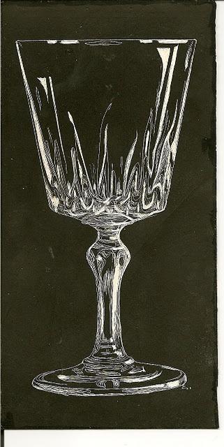 Scratch board glass by elzametz