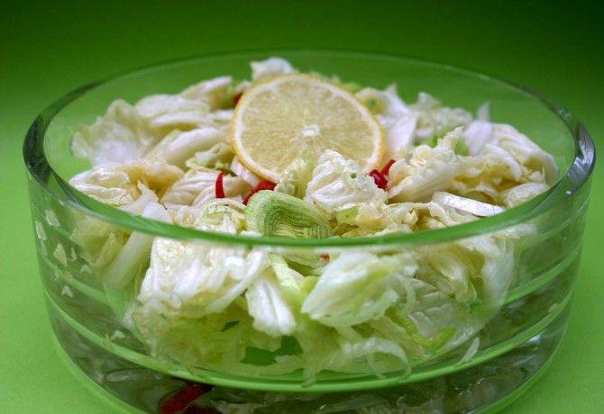 Szecsuáni kínai kel saláta (Kínai kel saláta 3.)