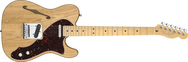 Oooooh, the pretty! American Deluxe Telecaster Thinline.
