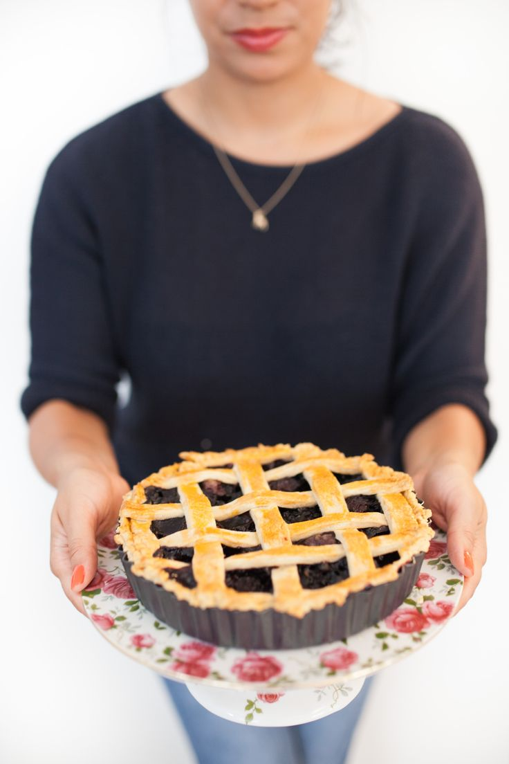 I made a pie! Blueberry & Cherry <3 By Cake Me! Oslo  www.facebook.com/cakemeoslo