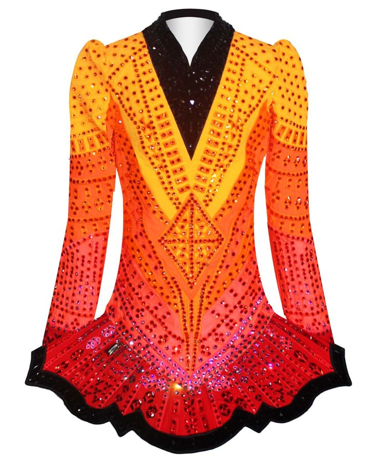 Exclusive and unique Irish dancing dresses by Elevation Design. The Elevation brand is one which is known worldwide in the Irish dance community.