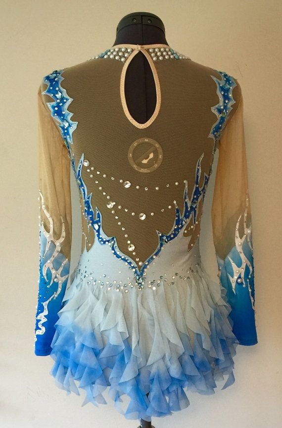 Rhythmic Gymnastics Competition Costume SOLD by Savalia on Etsy
