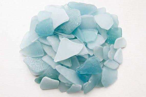 Bulk 100 pieces of assorted Aquamarine Japanese Sea