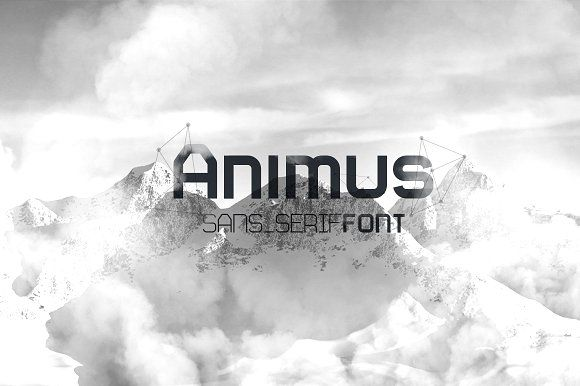 Animus Font by Fresh Pressed Fonts on @creativemarket