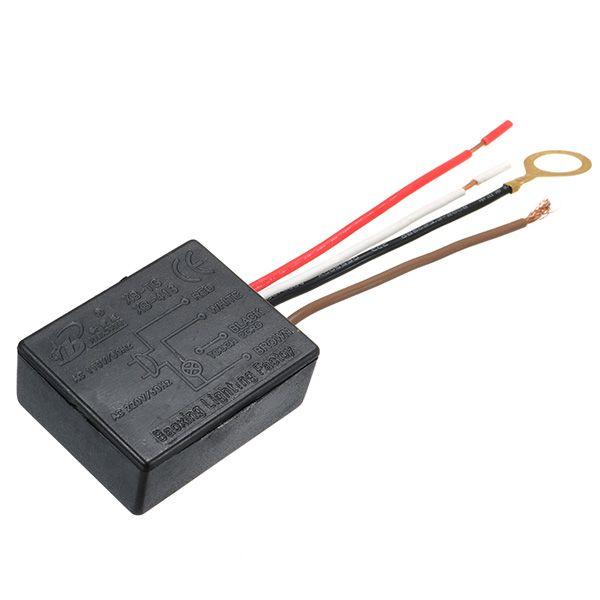 5pcs 220v 1a Lampada De Mesa Tres Seccoes Interruptor De Inducao De Interruptor De Atenuador De Toque Sensor Interruptor Led Light Switch Dimmer Switch Dimmer
