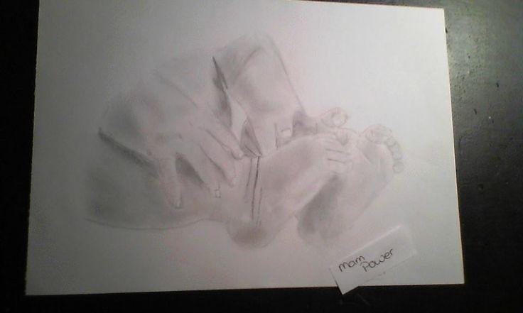Baby feets/hands by Mampower1.deviantart.com on @DeviantArt
