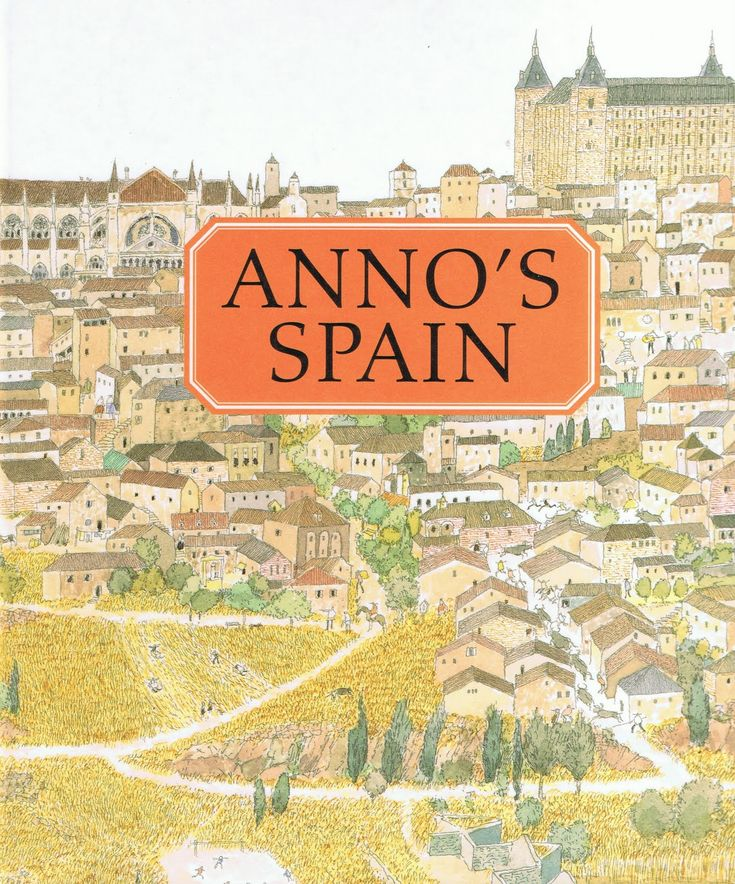 Covder for Anno's Spain by Mitsumasa Anno