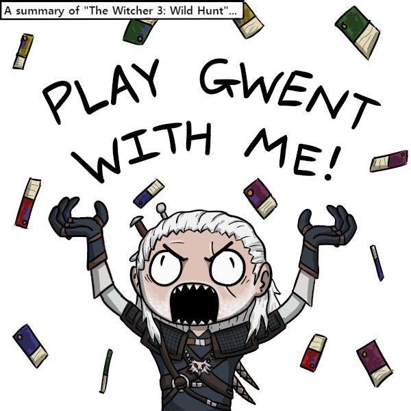 GWENT!!! GWENT NOW!!! by Psychia98.deviantart.com on @DeviantArt