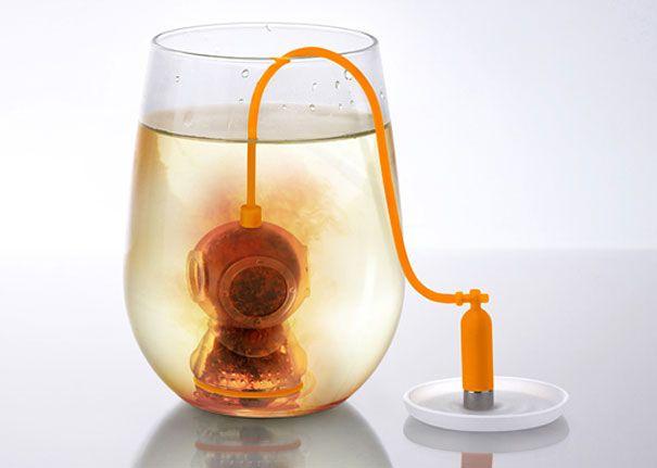 Çay süzen dalgıç
