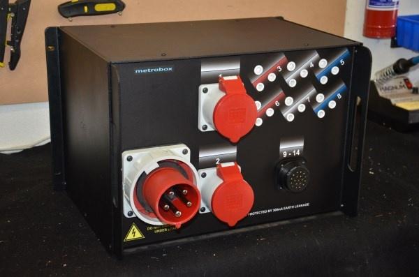 63A Comprehensive Rear - 7U Rackmount