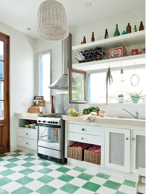 17 mejores ideas sobre pisos de madera gris en pinterest for Pisos para living y cocina