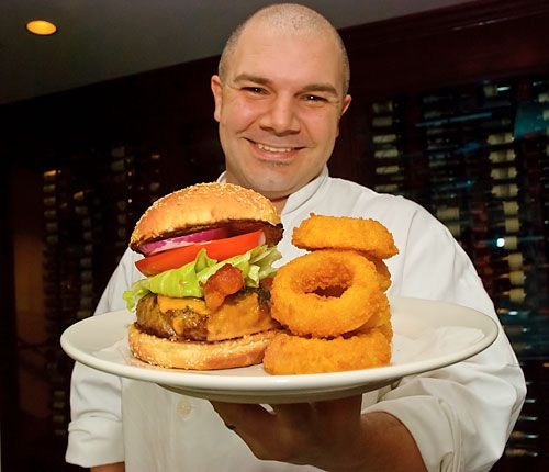 Burger time! Morton's chef shows you how its done